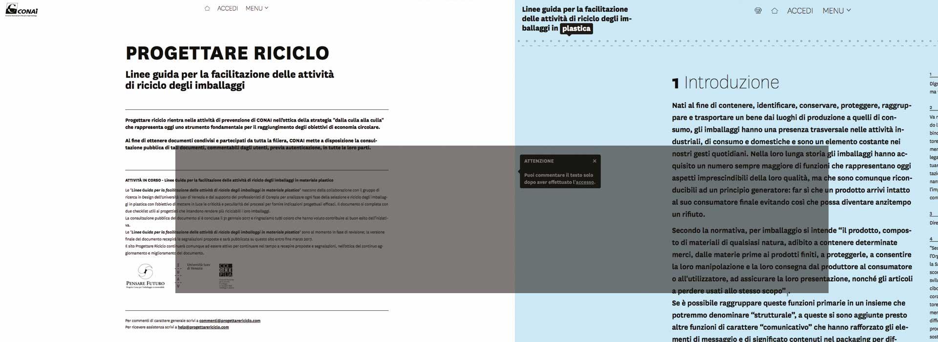 WWW.PROGETTARERICICLO.COM